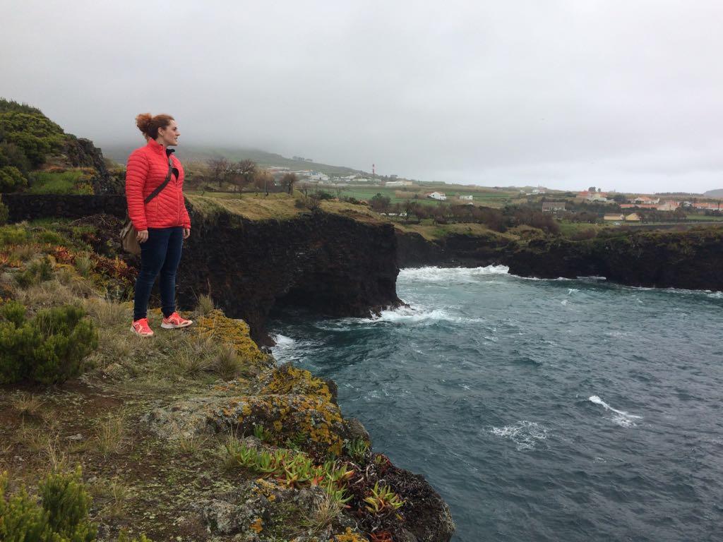 Crew der SY Irma_Johanna auf Bootsbesichtigung auf den Azoren 2017