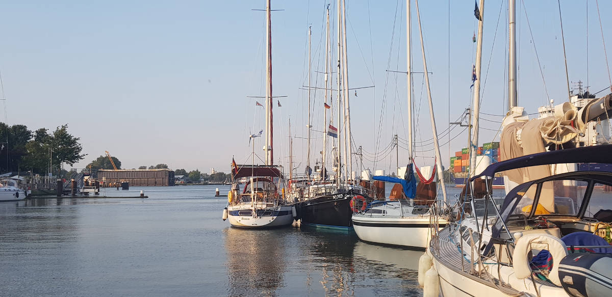 Nord Ostsee Kanal nach Cuxhaven – Northsea is calling!